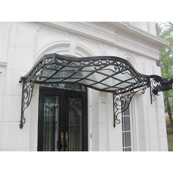 Wrought Iron Canopy Over Window