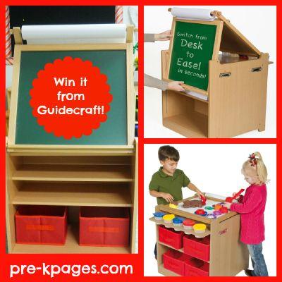 How To Set Up An Art Center In Preschool Art Equipment