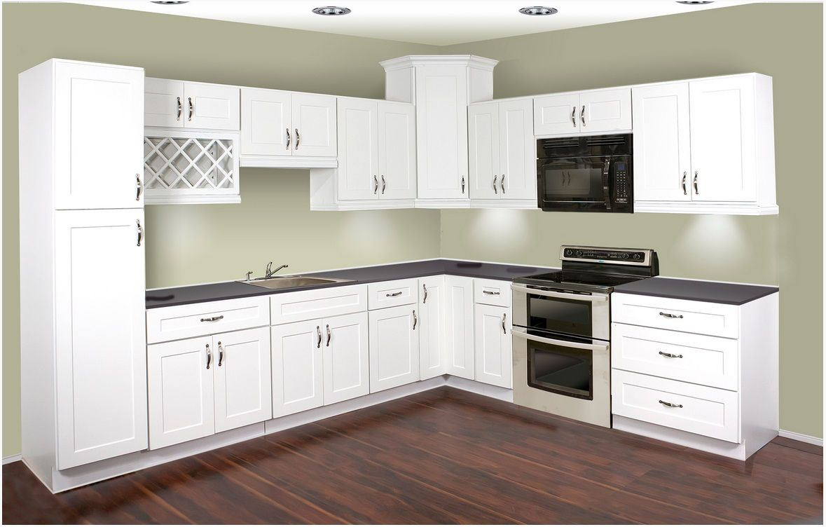 This layout for white cabinets dream kitchen for White rta kitchen cabinets