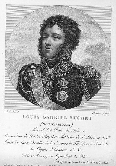 Louis-Gabriel Suchet (1770-1826) Duke of Albufera and Marshal of France