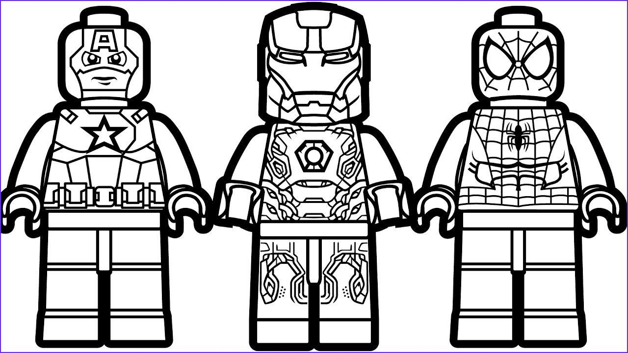 11 Cool Lego Spiderman Coloring Pages Photos In 2020 Superhelden