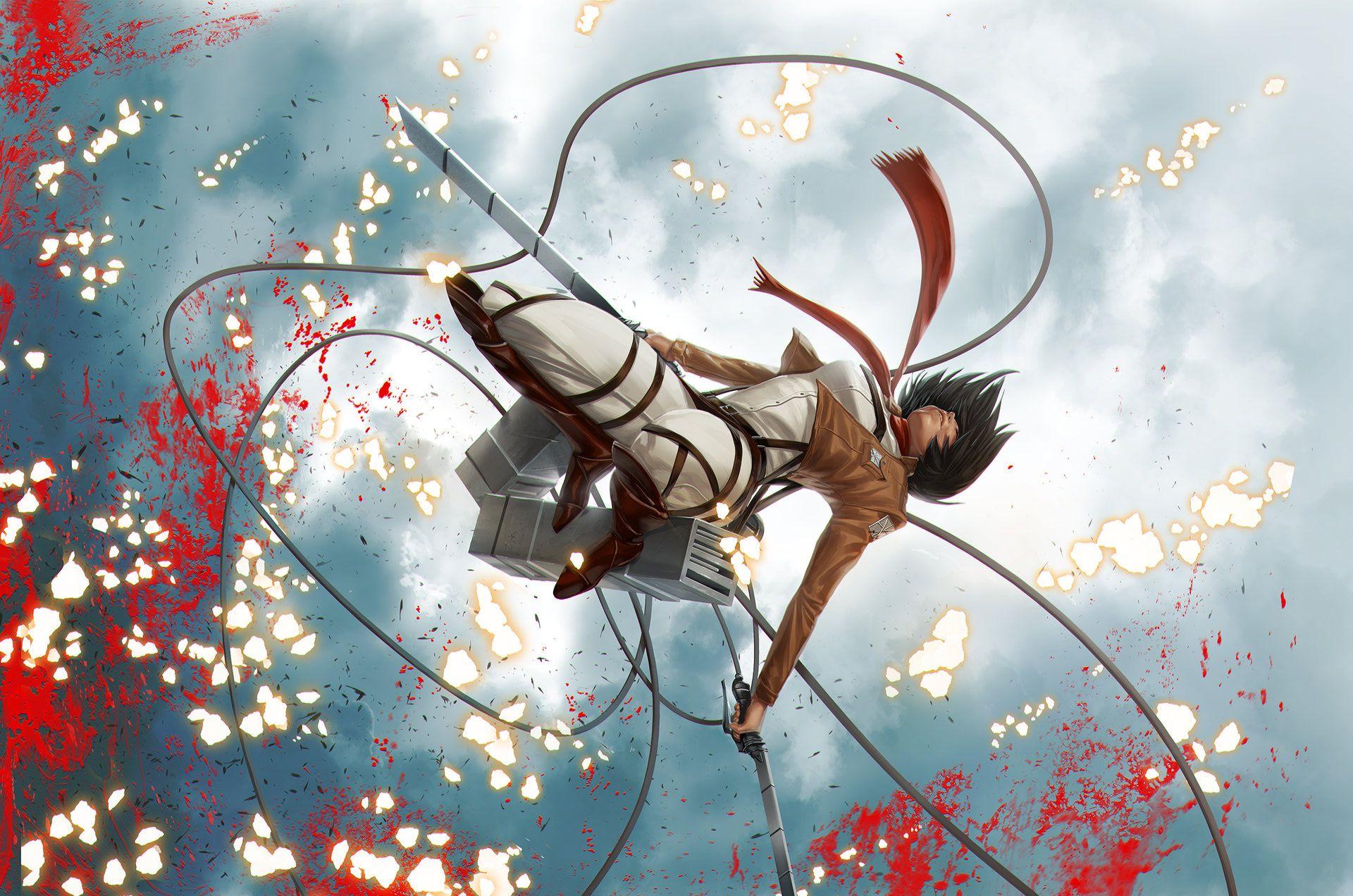 Anime Attack On Titan Mikasa Ackerman Wallpaper | attack on titan | Pinterest | Anime