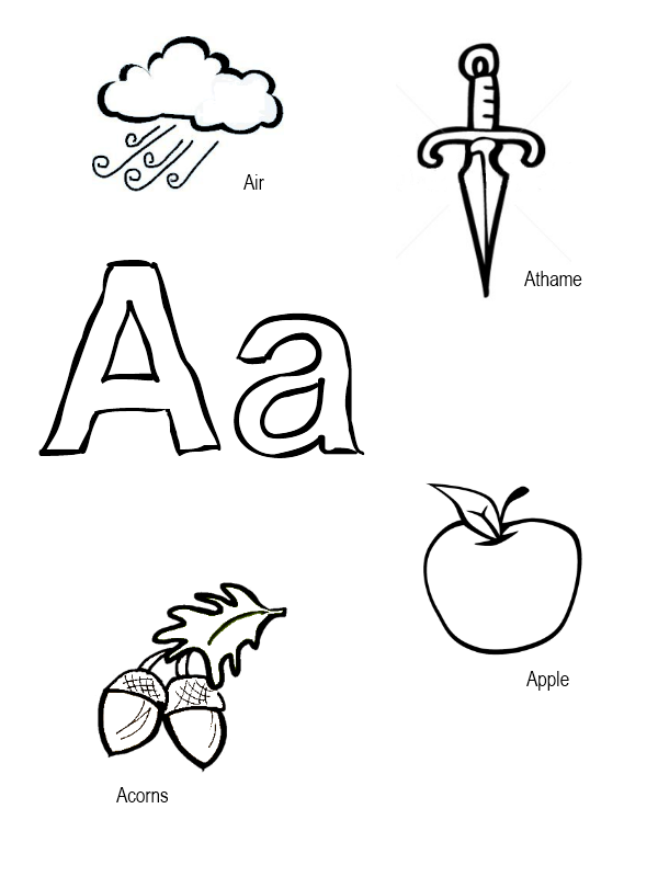 wiccan coloring pages | Pagan Alphabet Coloring Sheets ...
