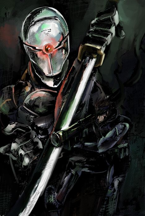Gray Fox Metal Gear Solid Pinterest Metal Gear Metal Gear