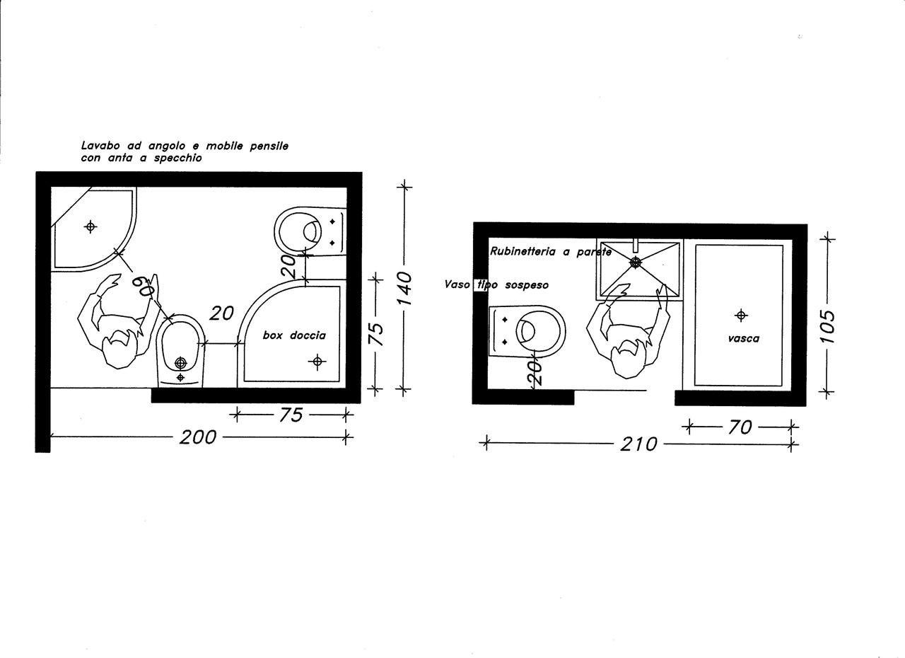 Dimensioni minime camera da letto minime bagno in camera dimensioni minime di un bagno - Dimensioni minime vasca da bagno ...