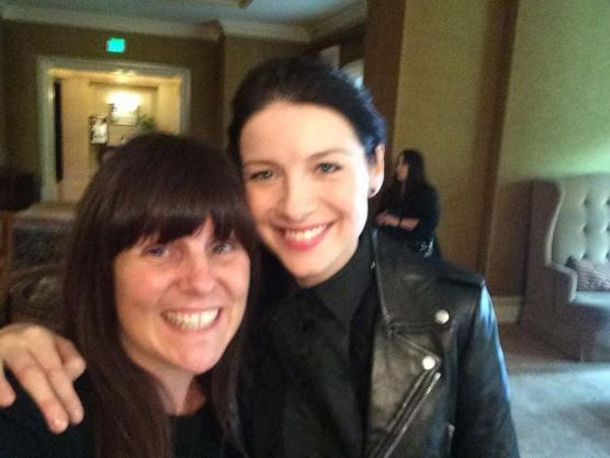 Pics of Caitriona Balfe and Sam Heughan With Fans at TCA15 | Outlander Online