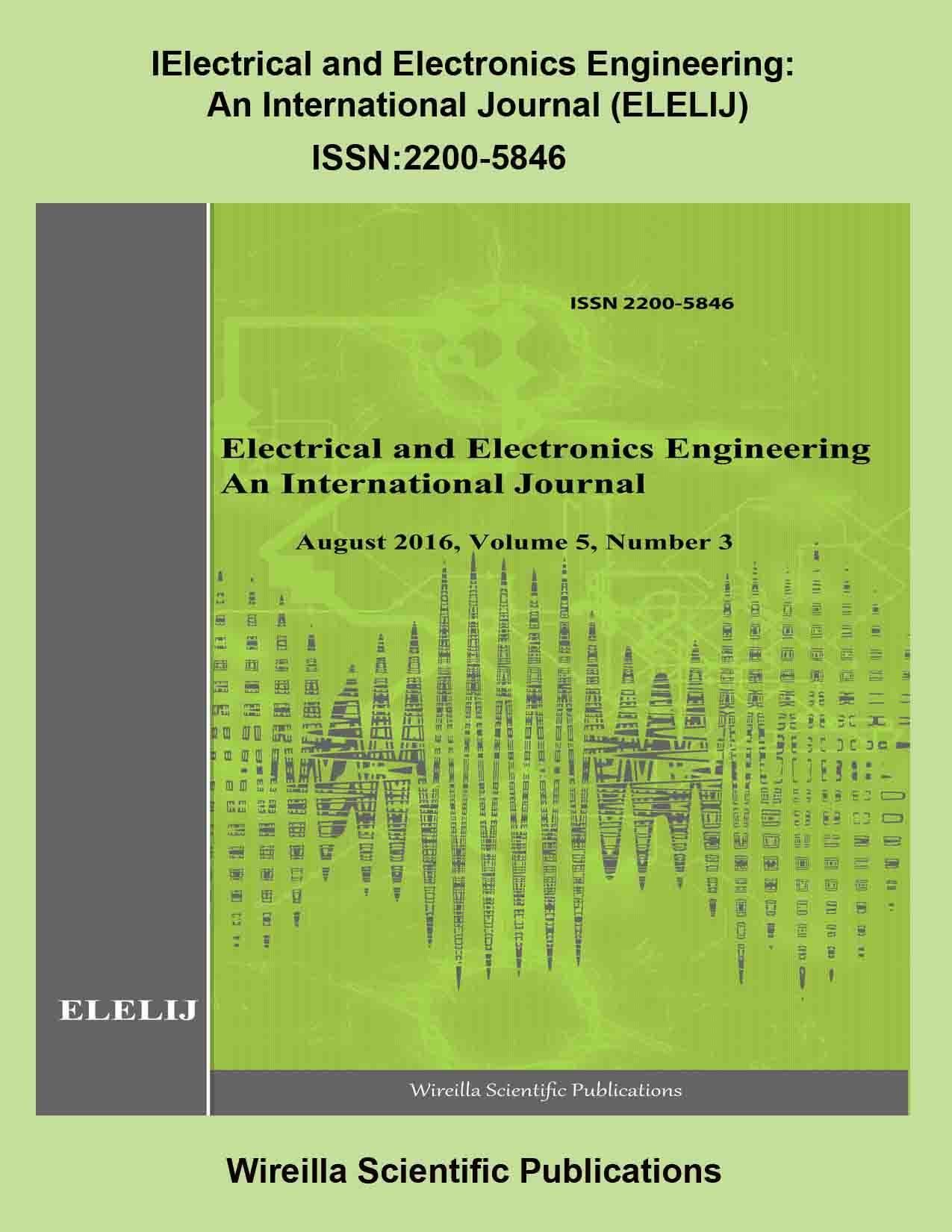 Electrical and Electronics Engineering An International