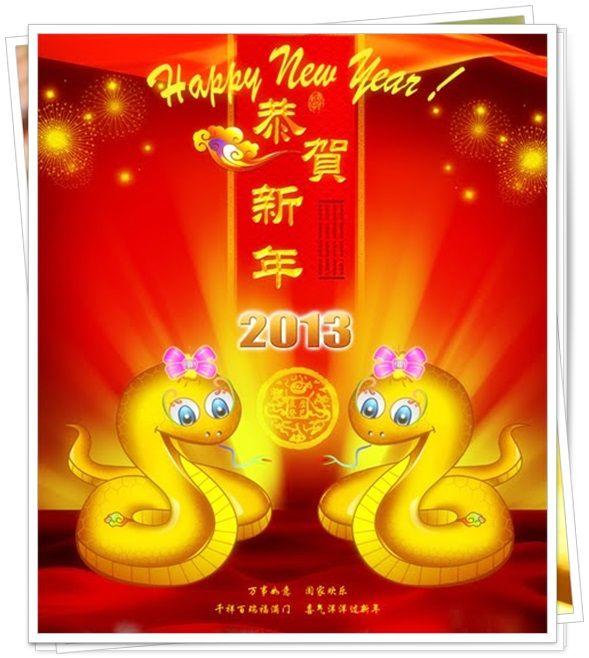 Contoh Ucapan Selamat Tahun Baru Imlek Dalam Bahasa Mandarin Cina