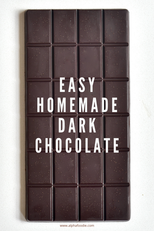 How To Make Healthy Dark Chocolate Recipe Homemade Dark Chocolate Healthy Dark Chocolate Dark Chocolate Recipes Healthy