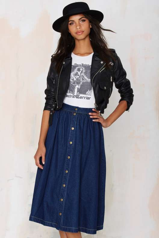 Sienna Denim Skirt