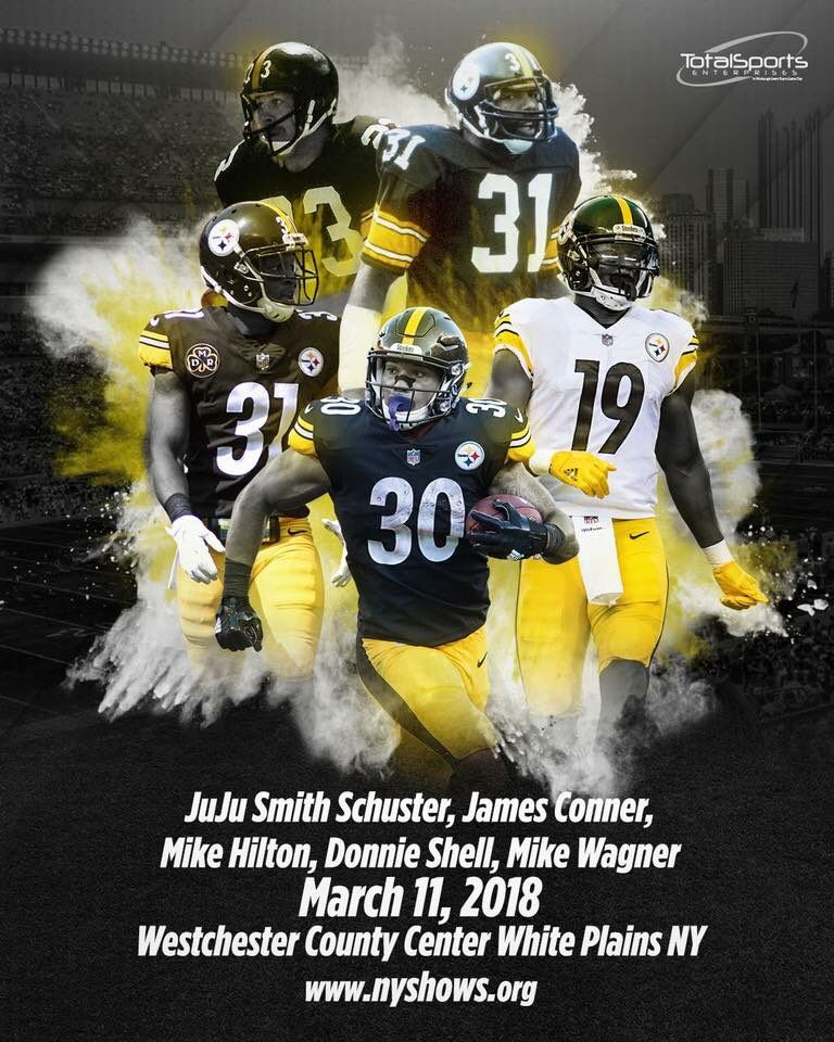 low priced c418c 25b6f JuJu Smith Schuster & James Conner | Steelers | Pittsburgh ...