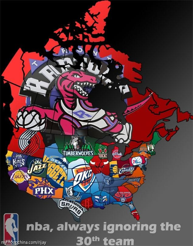 Nba Map Usa