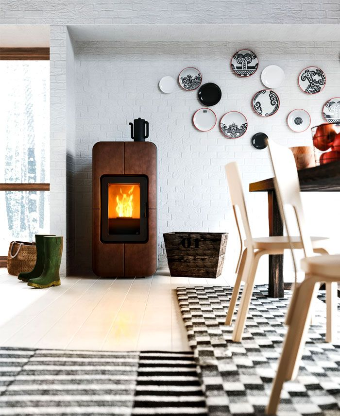 New Collection Of Scandinavian Inspired Stoves By Mcz Minimalism Interior Minimal Interior Design Wood Pellet Stoves