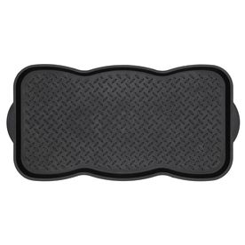 mohawk home 15 x 29 1 2 boot tray door mat at lowe 39 s things to buy pinterest boot. Black Bedroom Furniture Sets. Home Design Ideas