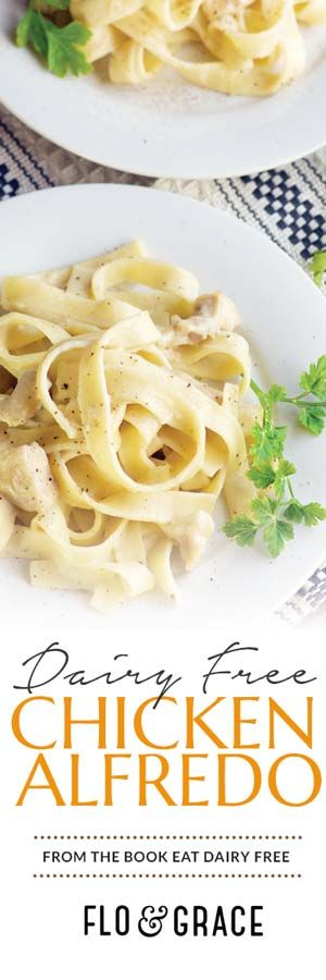 Try this Easy Dairy Free Chicken Alfredo and you may never go back to the dairy-full version.