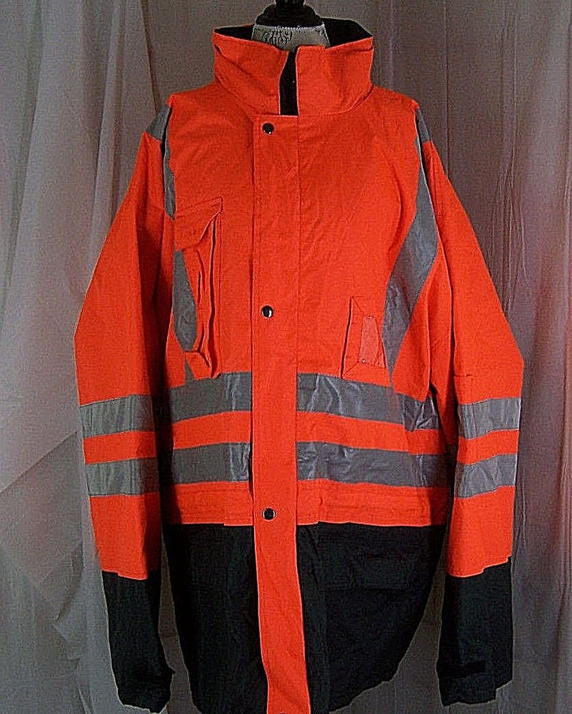 INCENTEX SAFETY JACKET HIGHLY REFLECTIVE 6XL class 2 level