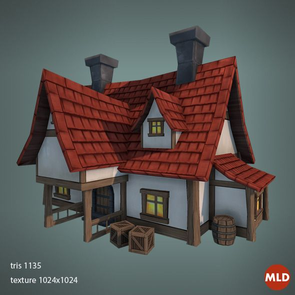 Low poly big house inspirational pinterest big for 3d house building games online