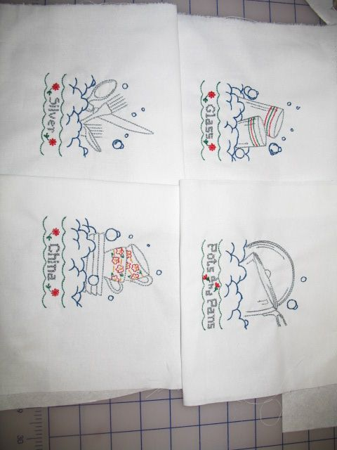 Hand Stitched Kitchen Design Embroidery Kitchen Design Ideas Diy Pinterest Embroidery