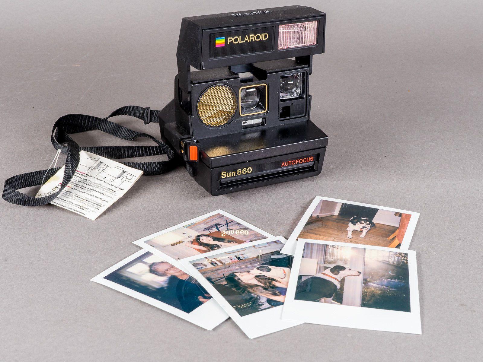 vintage polaroid 660 autofocus instant camera film tested w orig rh in pinterest com polaroid af 660 manual polaroid 660 user manual