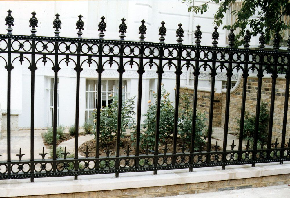 Victorian Style Railings Wrought Iron Railing Exterior Iron
