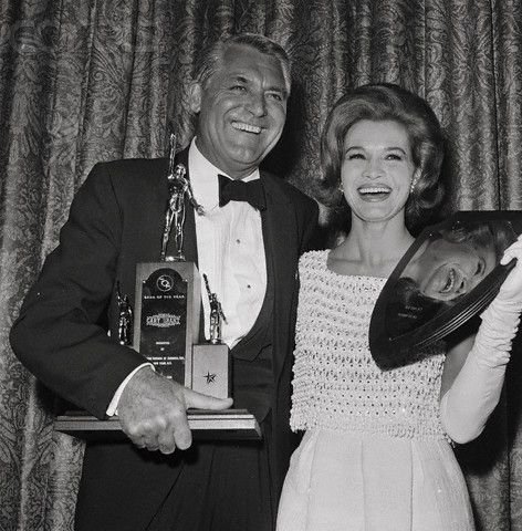 Cary Grant and Angie Dickinson.