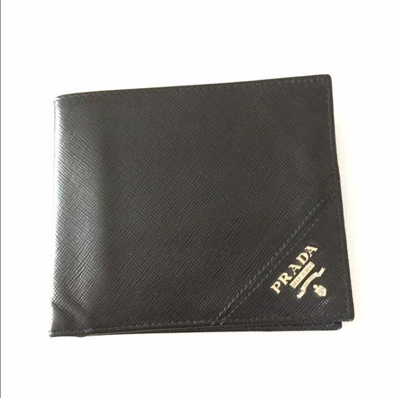 Prada Men's Bifold Wallet