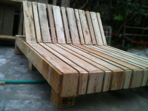 Double Pallet Lounge Chair Sisustus