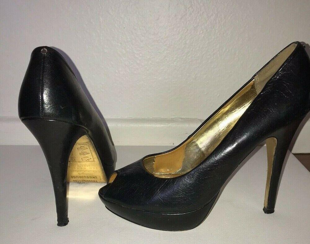 57d44ecfb06 Ted Baker Svana Stilettos Black Patent Leather Platform Peep Toe Pumps Size  8  fashion  clothing  shoes  accessories  womensshoes  heels (ebay link)