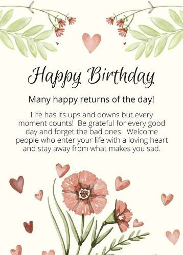 Wish U Many Many Happy Returns Of The Day Wishes And Quotes For