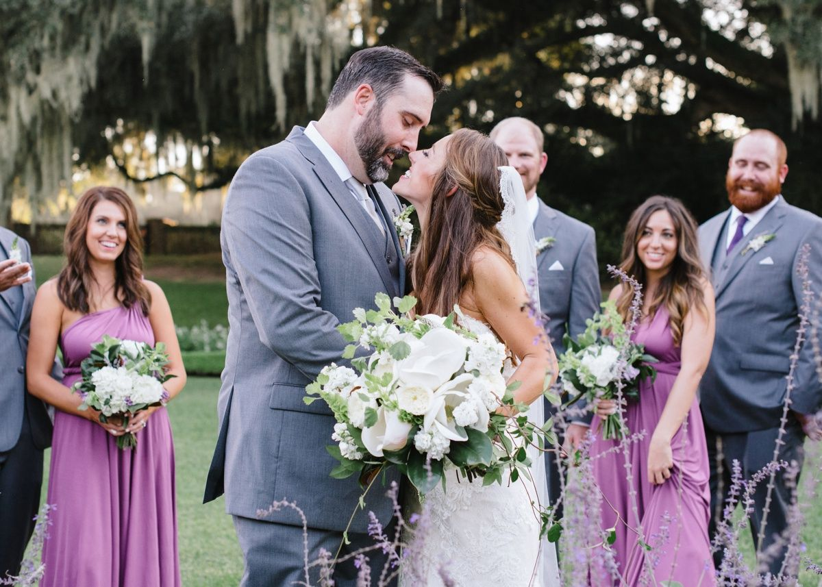 Kelly James Southern Wedding At Middleton Place