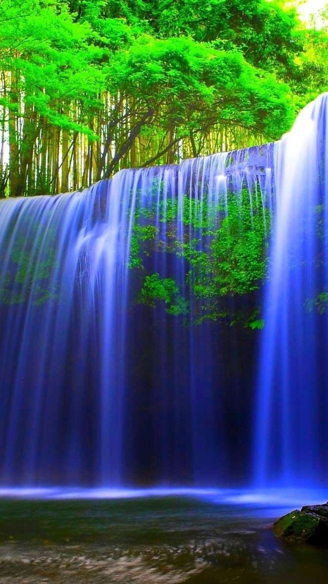 Real Waterfall Photo > Flip Wallpapers > Download Free