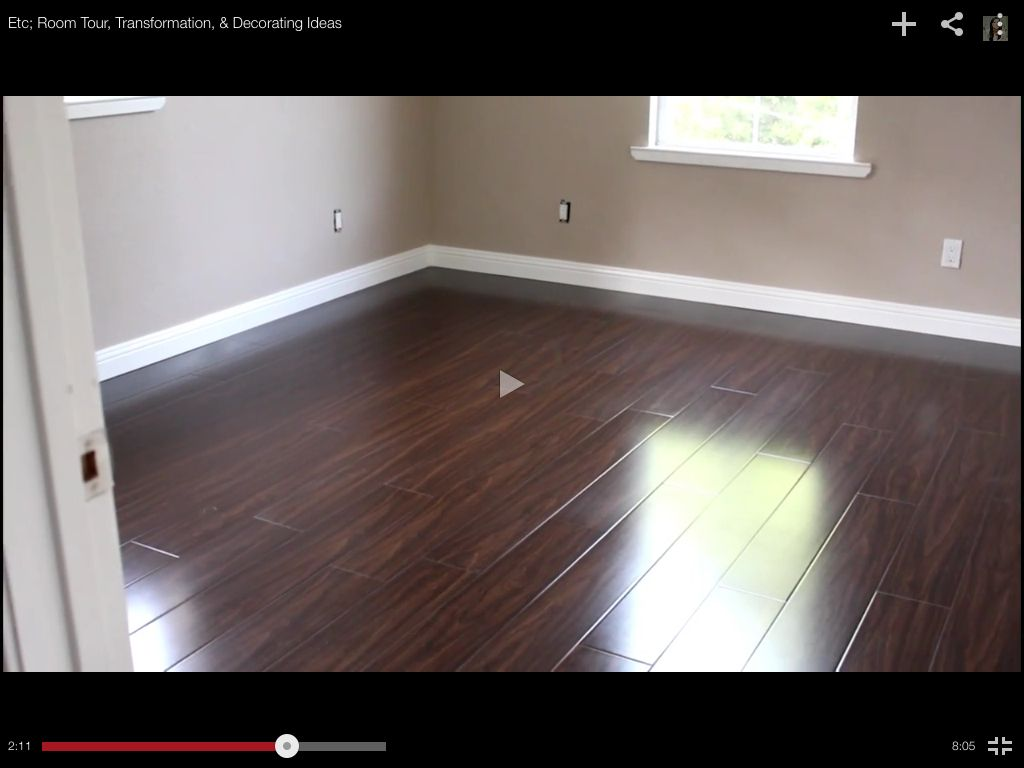 Love The Dark Flooring And The Paint Paint Is Glidden
