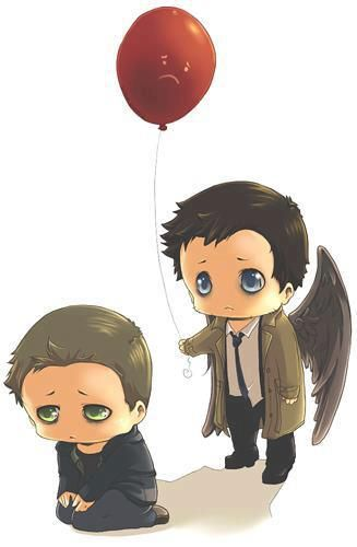 Dean Winchester and Castiel || Supernatural