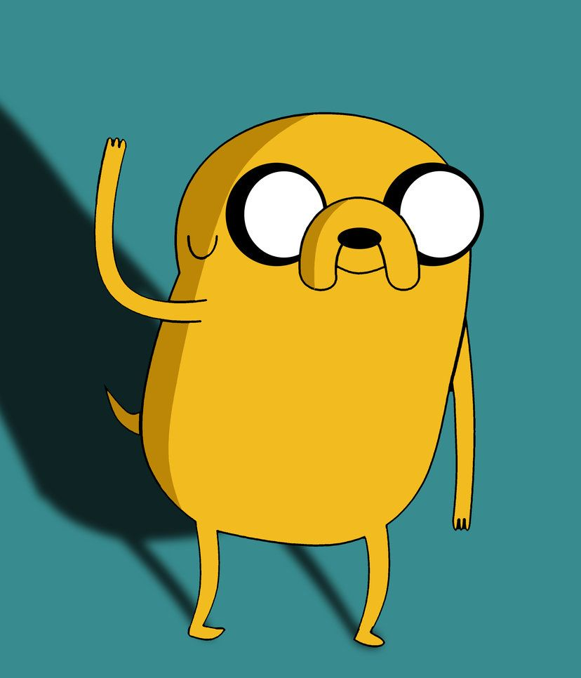 Say Hi To Jake The Dog Adventure Time Adventure Time Wallpaper Jake The Dogs Jake Adventure Time