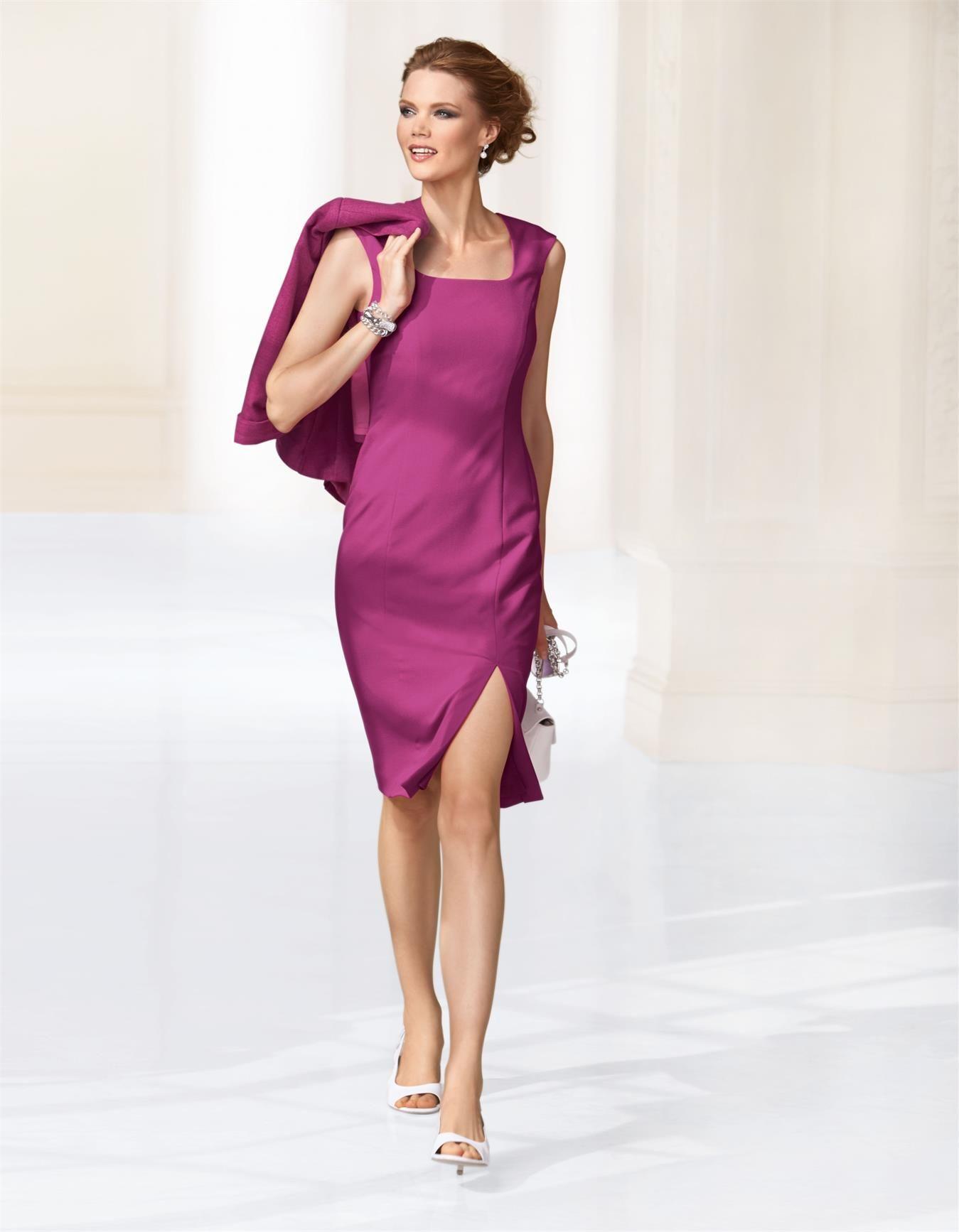 Etuikleid - MADELEINE Mode  Etuikleid, Mode, Kleid mit stehkragen