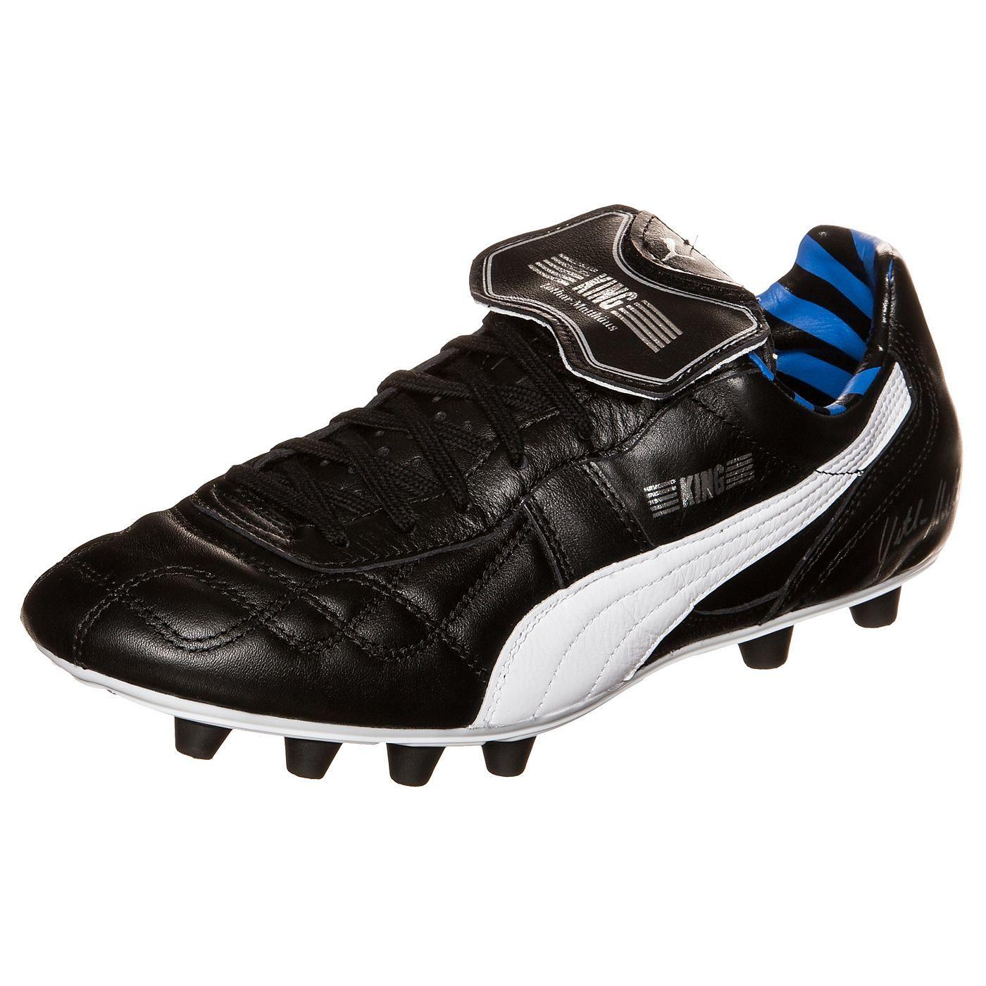 Puma KING LOTHAR MATTHAUS Zapatillas Futbol Soccer Cuero Negro para Hombre Edicion Especial l2pWs