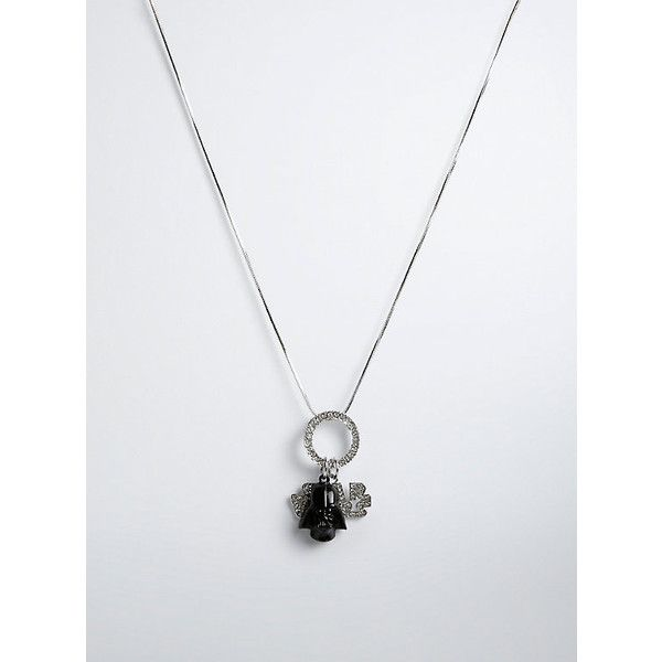 Torrid Star Wars Darth Vader Necklace (426465 BYR) ❤ liked on Polyvore featuring jewelry, necklaces, pendant charms, pave necklace, heart necklace, heart charm necklace and heart shaped necklace