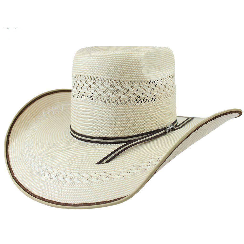 065f9dbacc Tombstone Pro Bull Two-Tone Cowboy Straw Hat in 2019