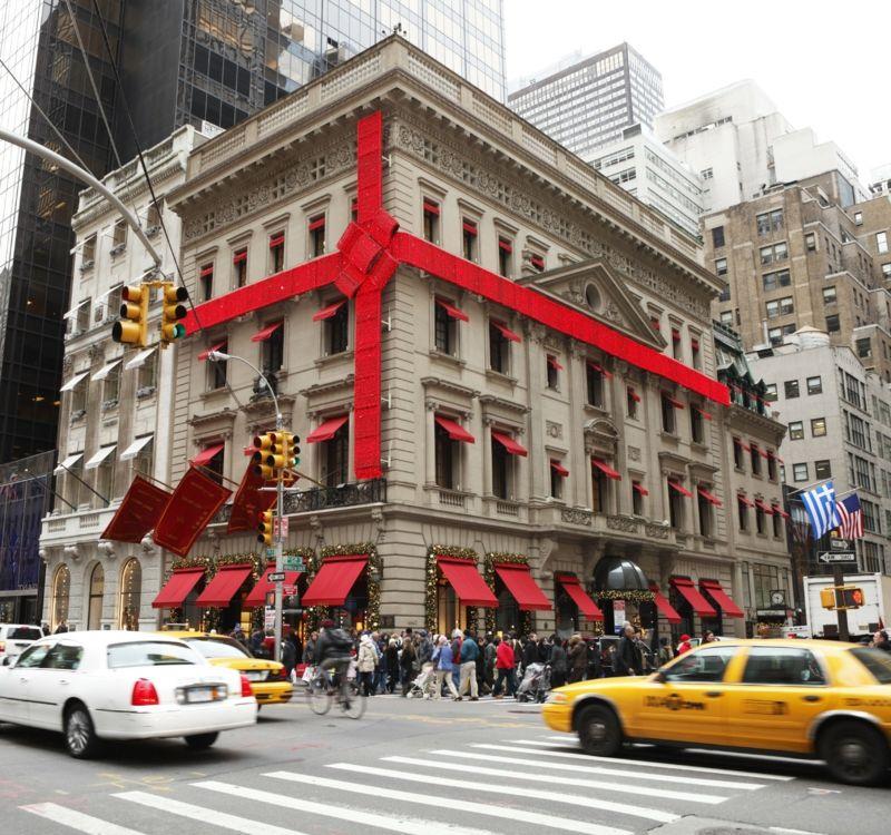 Weihnachten in New York Weihnachtsdekoration