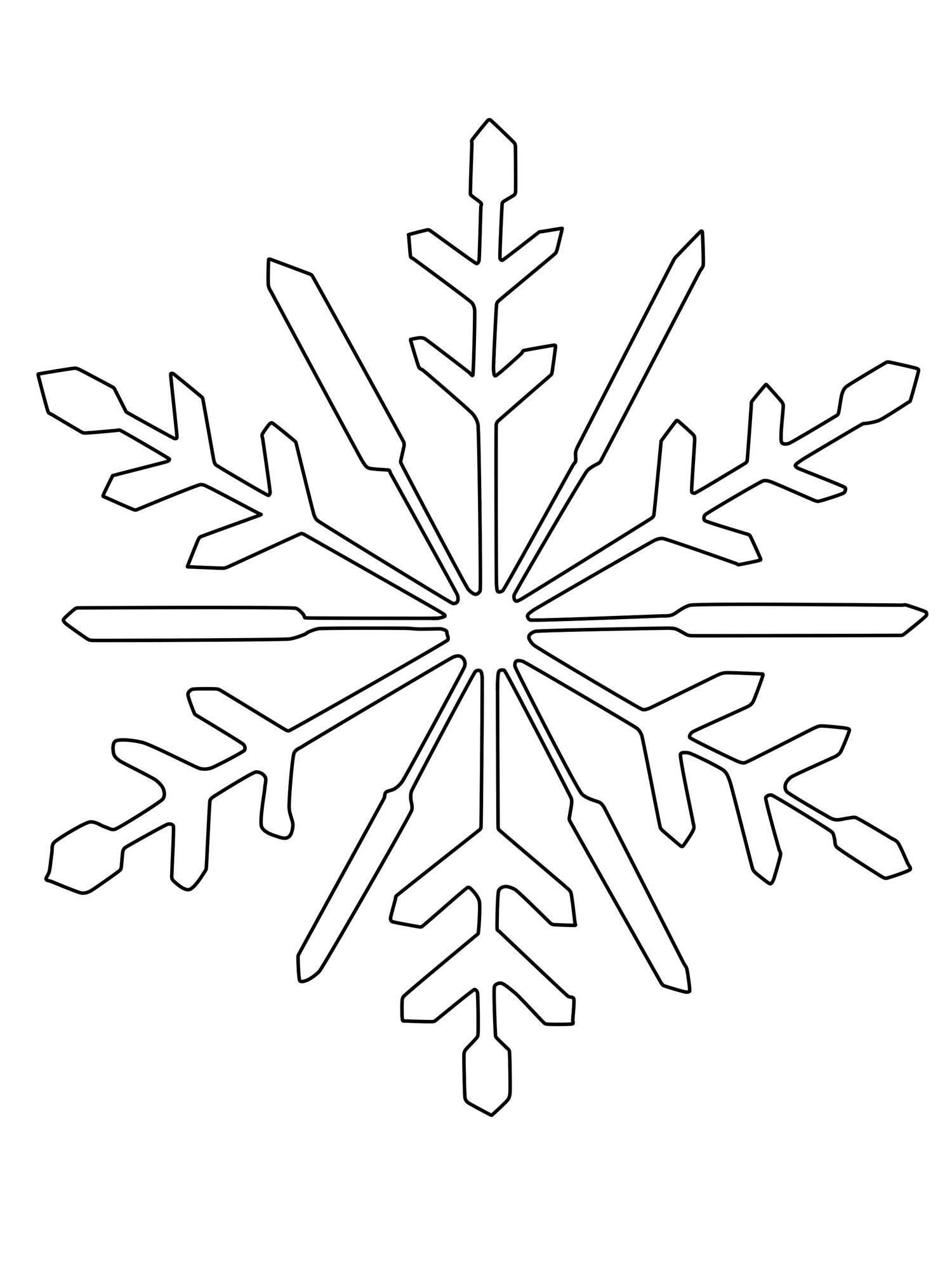 schneeflocke zum ausmalen  Schneeflocke schablone, Schneeflocke