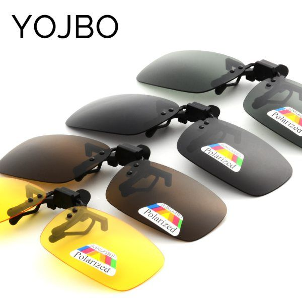 6c6d634554 camcorners.com YOJBO Night Vision Women Men Clip On Flip Up Sunglasses  Designer Brand Polarized Sun Glasses Yellow Driving Glasses Gafas De Sol   skincare ...