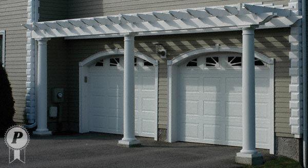 Garage Door Trellis or Arbors A frame garage Arched Doorway