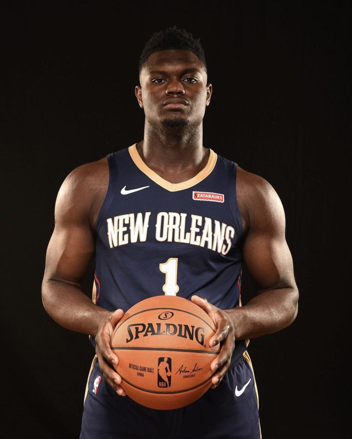 Zion Williamson Pelicans Basketball New Orleans Pelicans Nba
