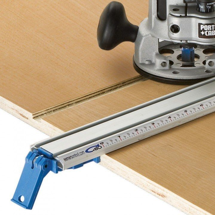 Squaring attachment for all-in-one clamp guide (a and c series.