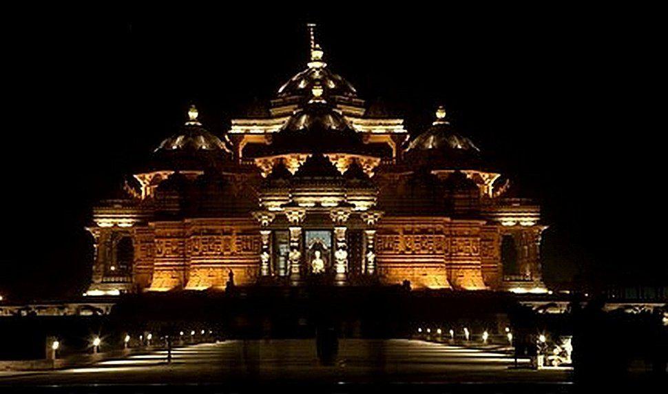 Akshardham Delhi, India | templo de akshardham, delhi india wallpaper