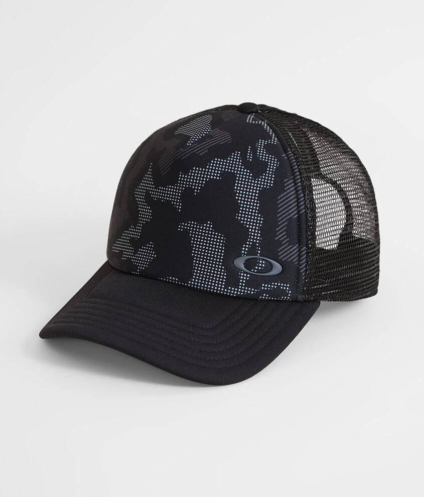Camo Camouflage Mesh Snapback Hat Cap With Gold Border American Flag Patch