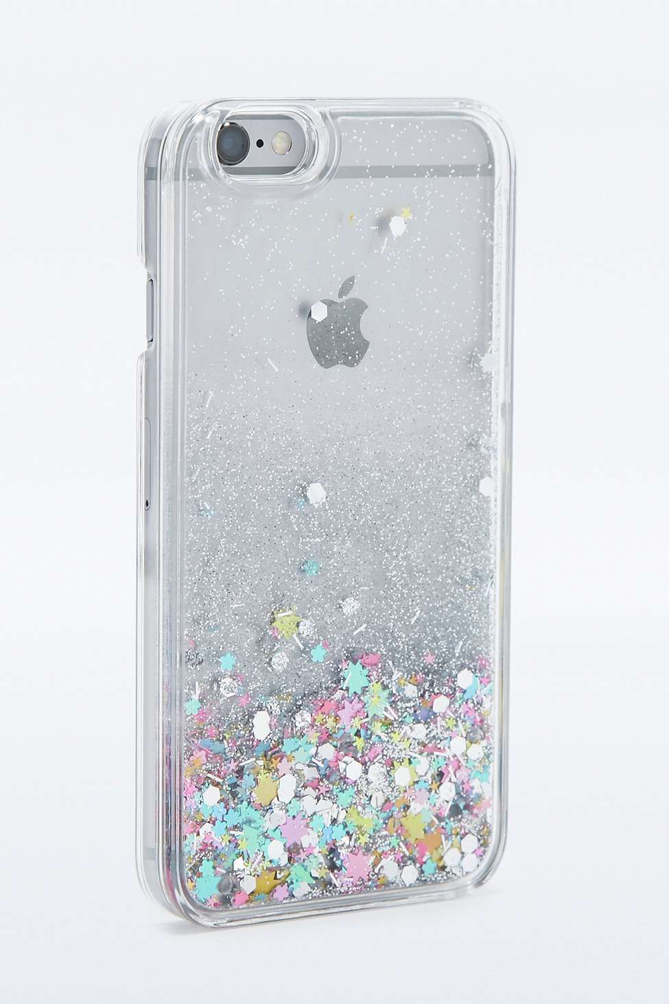 coque iphone 8 paillette eau
