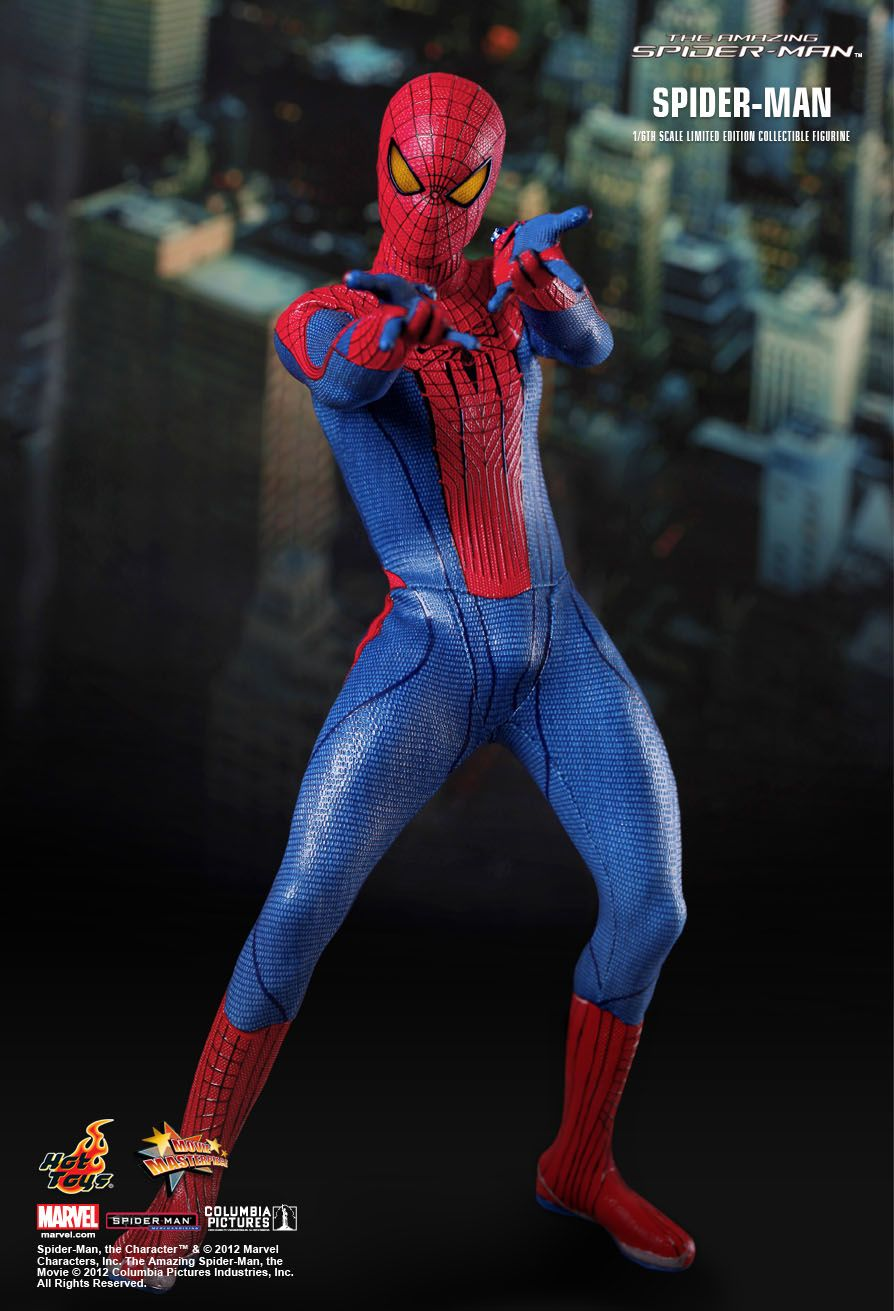 9cc3dbf16fc9c Hot Toys : The Amazing Spider-Man - Spider-Man 1/6th scale ...