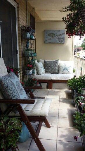 My lovely balcony garden/oasis Cozy Pinterest Balcones - balcones modernos