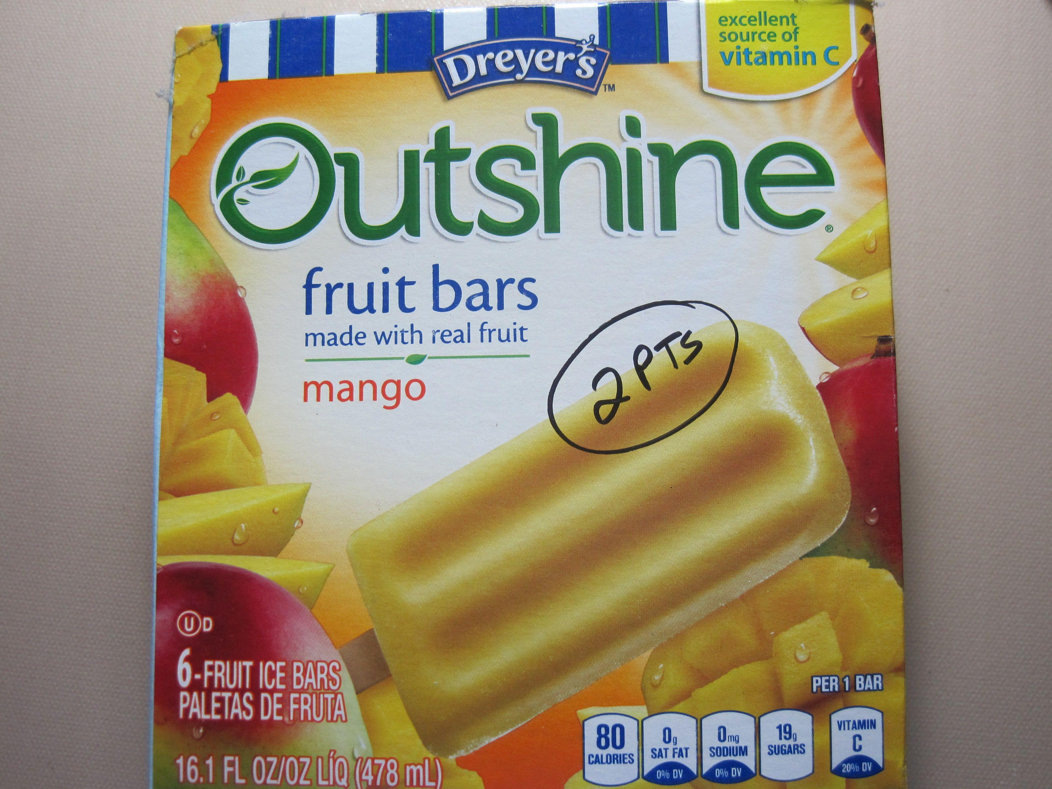 Ww 2pt Outshine Fruit Bars Walmart Frys Low Carb Quick Meals Outshine Fruit Bars Ww Recipes